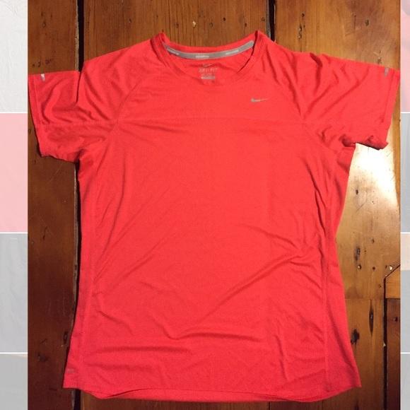 Nike Tops - Nike Dri Fit Coral Workout T-shirt Women's XL